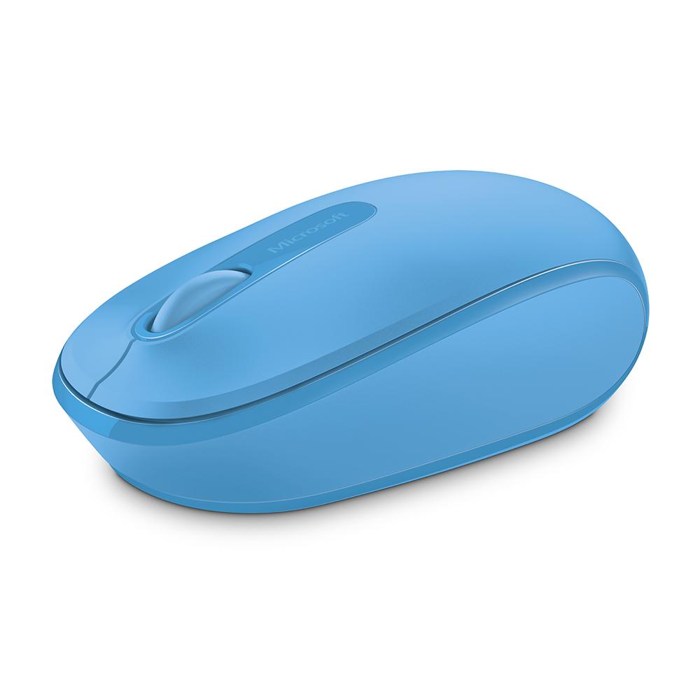 微軟Microsoft無線行動滑鼠1850 - 活力藍
