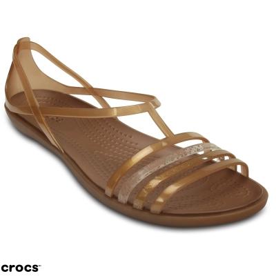 Crocs卡駱馳(女) 伊莎貝拉夏日涼鞋-202465-854