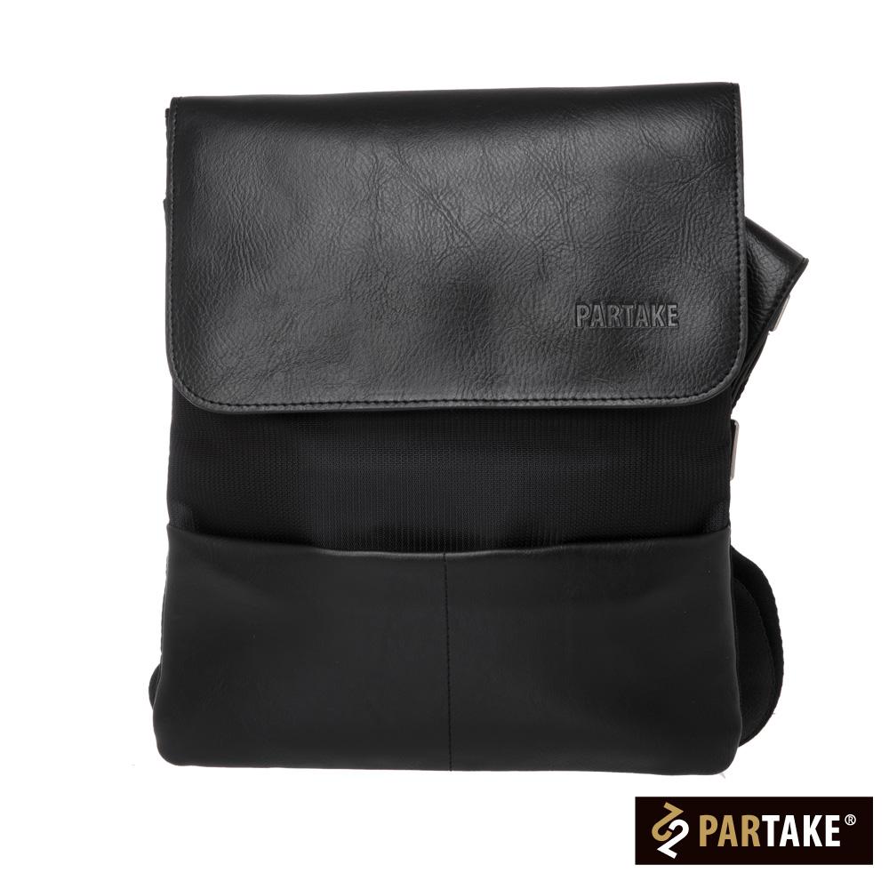 PARTAKE A2系列-直式側背包-黑