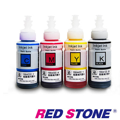 RED STONE for EPSON T 664100 ~T 664400 相容墨水(四色一組)