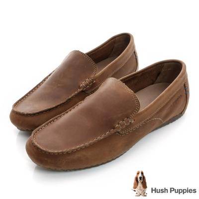 Hush Puppies RIBAN 超軟Q百搭休閒鞋-棕色