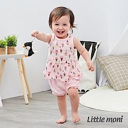 Little moni 家居系列花苞泡泡短褲 (2色可選)