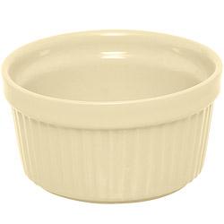 EXCELSA Trendy陶製布丁烤杯(奶油黃9cm)