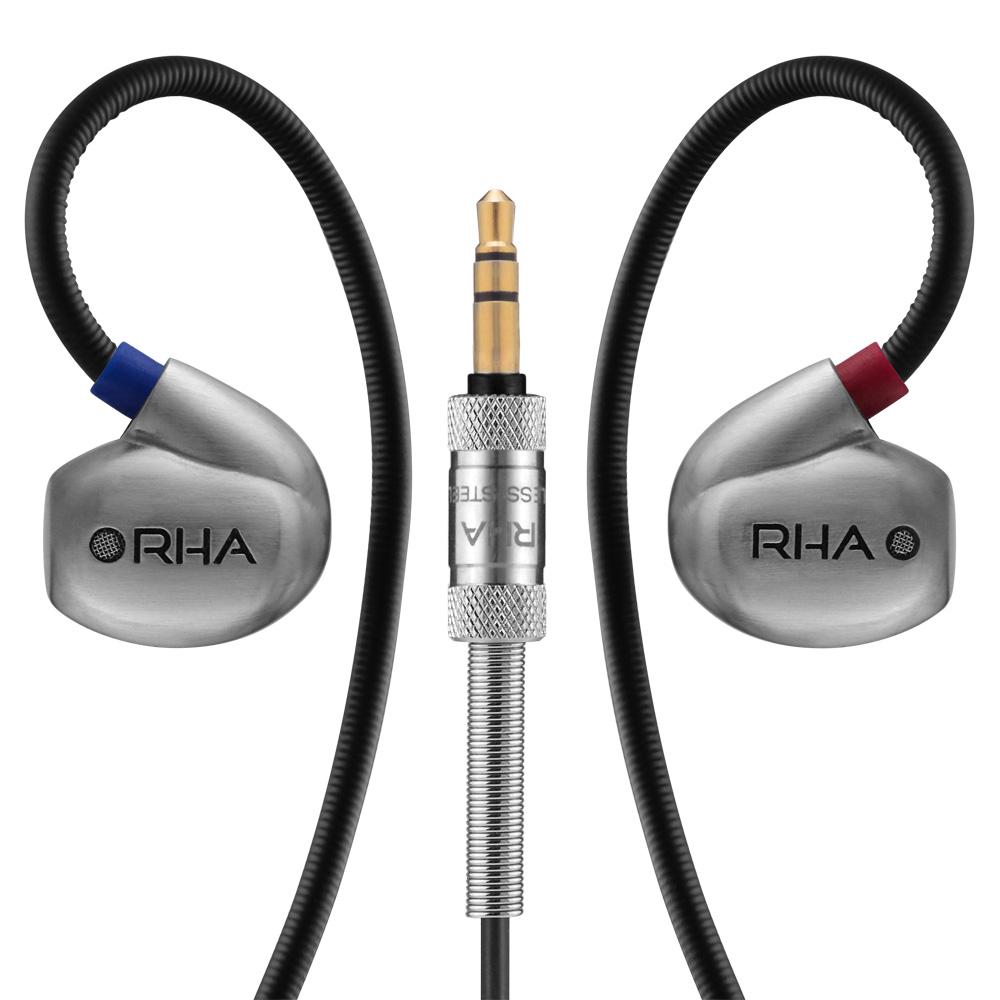 RHA - T20 高解析雙動圈入耳式耳機
