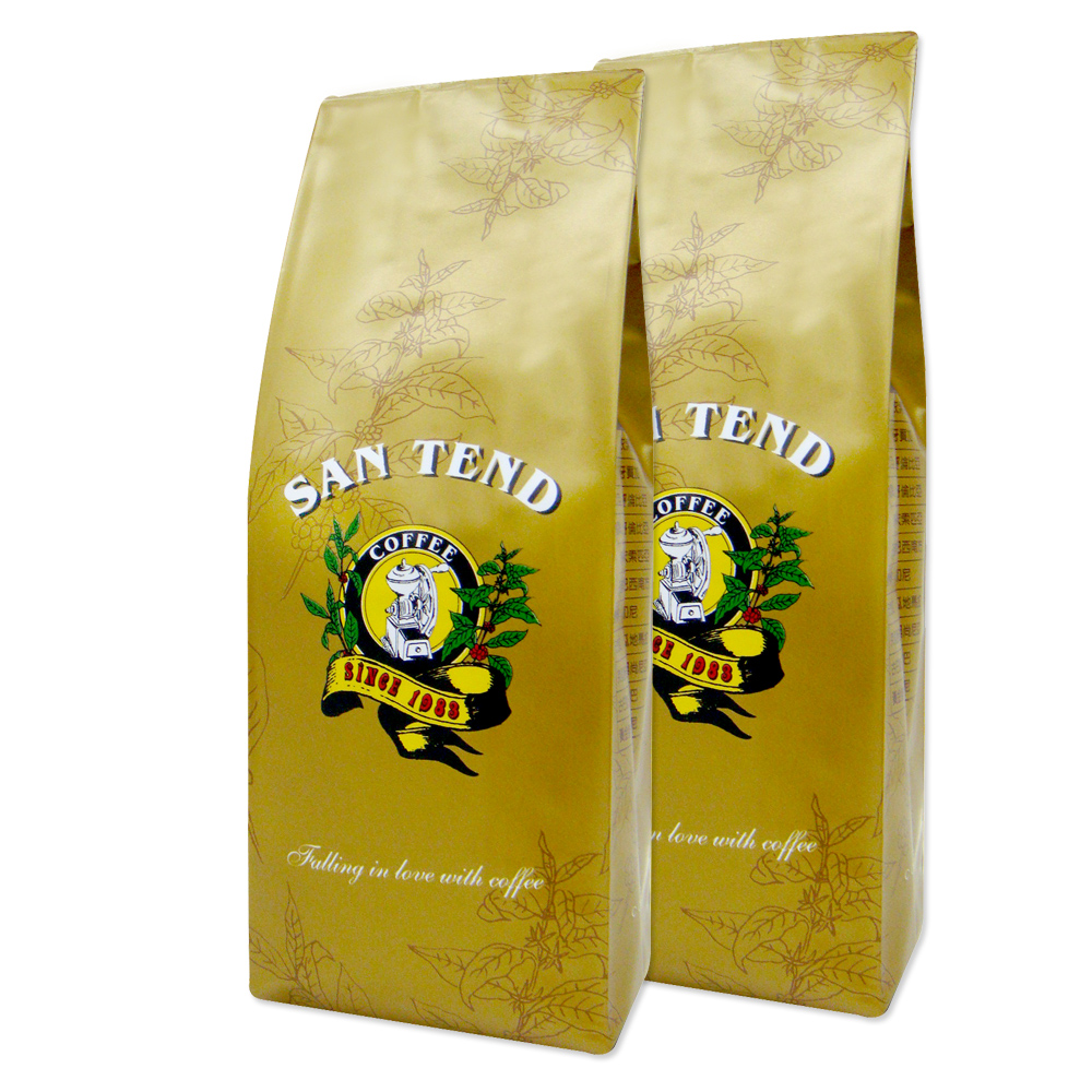 《上田》綜合熱咖啡豆(半磅*2入/共450g)