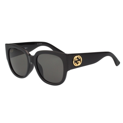 GUCCI 經典粗版 太陽眼鏡(黑色)