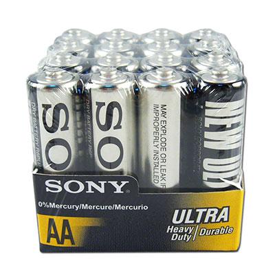 SONY 環保碳鋅ULTRA電池三號AA (16顆入)