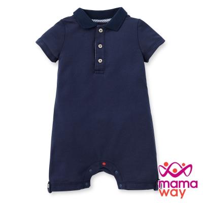 Mamaway Baby POLO 素色平口褲包屁衣(共四色)