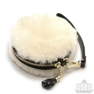2R-SNOW澳洲羊毛暖心包-米白