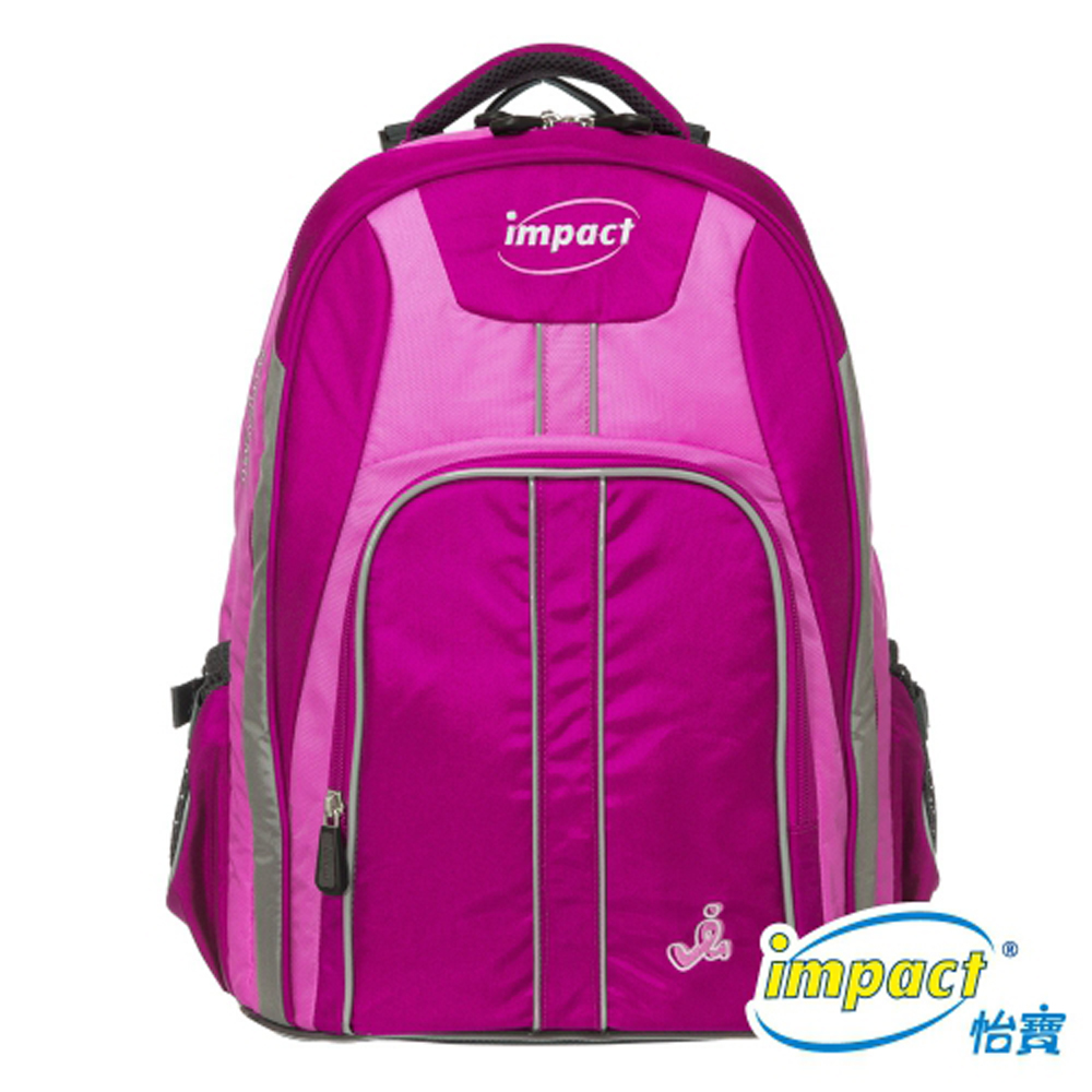IMPACT 怡寶博學調整型護脊書包-粉紅 IM00221PK