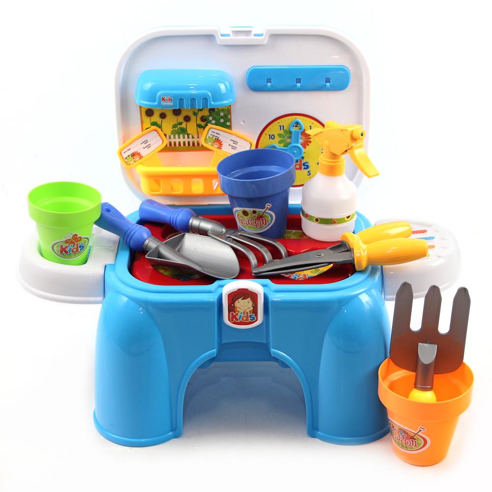 園藝工具收納椅 (可當座椅、學習園藝種植)