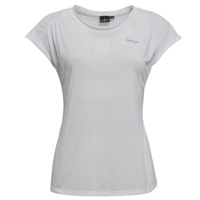 【hilltop山頂鳥】女款DIR-RELEASE吸濕快乾T恤S04FD6-亮白
