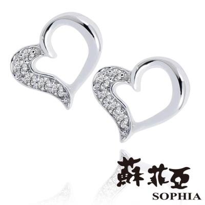 蘇菲亞SOPHIA - 美樂蒂0.05克拉鑽石耳環