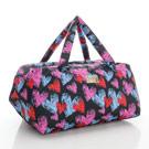 VOVAROVA空氣包-週末旅行袋-jump!數心心(黑)-法國設計系列