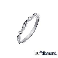 Just Diamond 18K金 鑽石戒指-Dancing Leaf