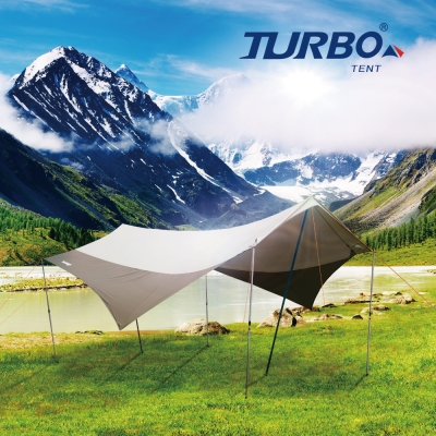 【Turbo Tent】UFO580天幕(蝶形天幕)