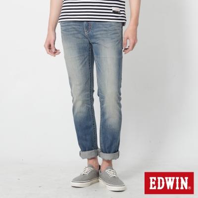 5th STREET 粗曠印象1965直筒牛仔褲-男-石洗藍