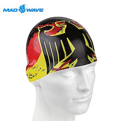 俄羅斯 邁俄威 成人矽膠泳帽 MADWAVE GERMANY