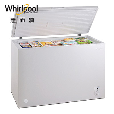 Whirlpool惠而浦255L臥式冷凍櫃 WCF255W1