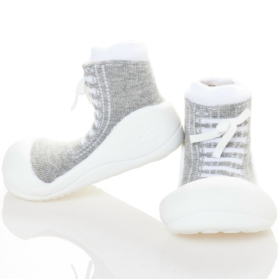 韓國Attipas 快樂學步鞋AS07-律動灰