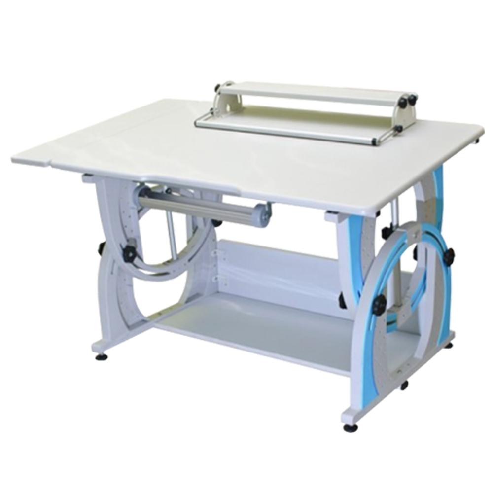 時尚屋 KIWI兒童成長加寬多功能筆槽書桌G115-A