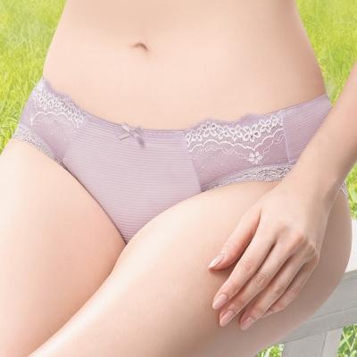 莎薇 Air Cool 透氣涼感 M-LL 低腰三角褲(藕膚紫)