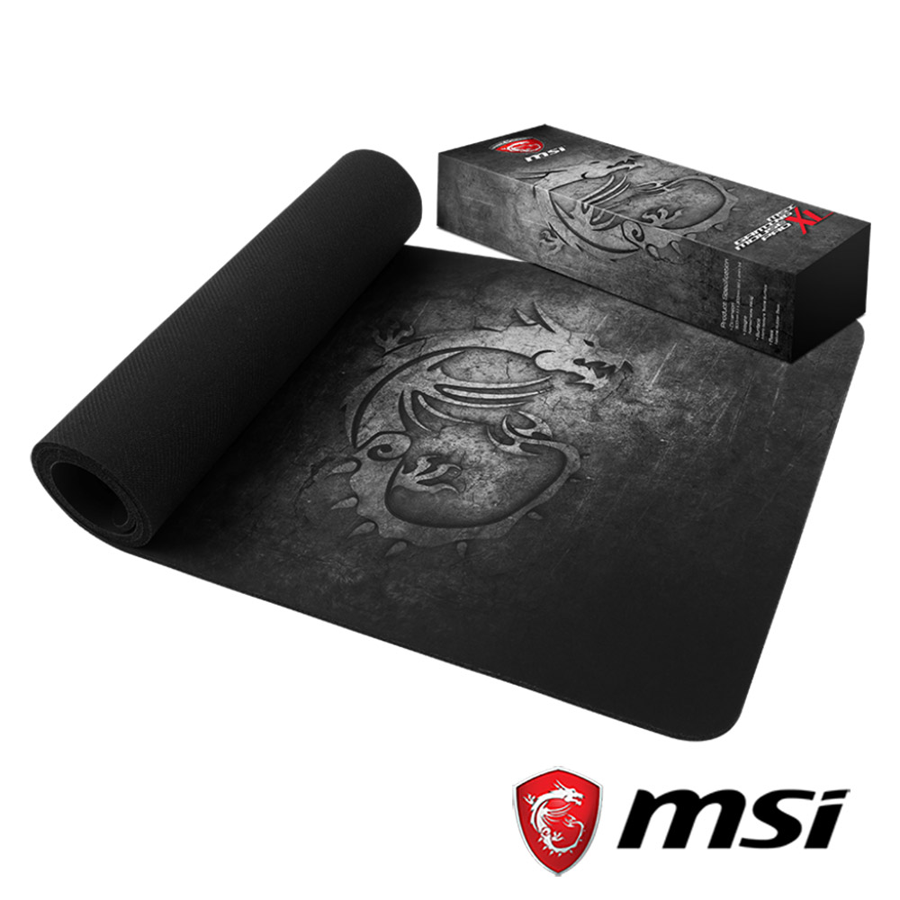 MSI微星 Mousepad XL 電競滑鼠墊