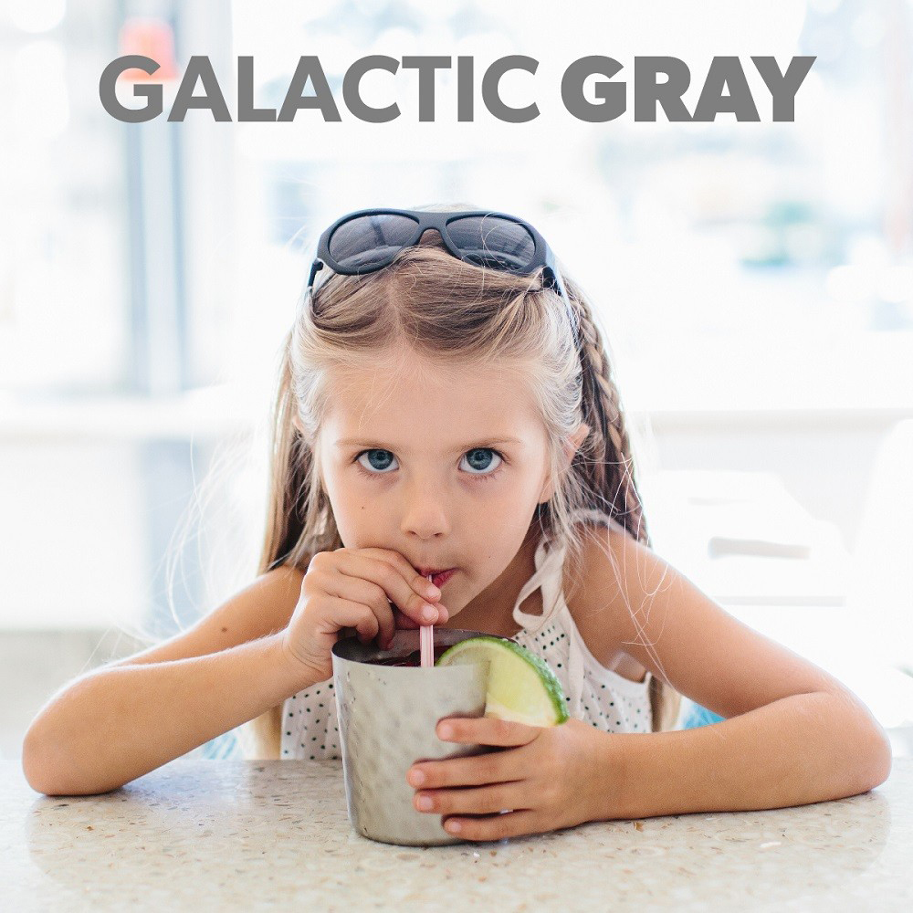 美國BABIATORS 嬰幼兒墨鏡 -銀河灰