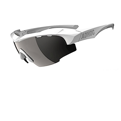 【ADHOC】運動太陽眼鏡-偏光灰片-半框式 K-NIGHT Plus