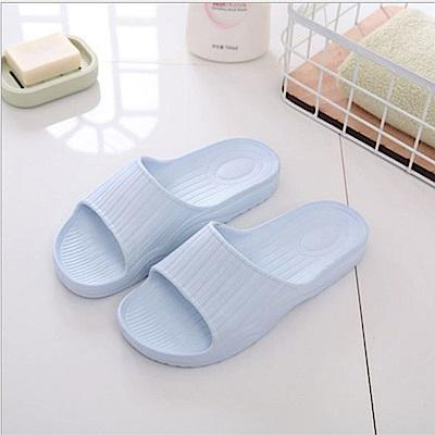日創優品 38度Q加厚柔軟室內外拖鞋-天空藍26cm