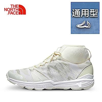 The North Face北面女款白色透氣抓地跑步鞋