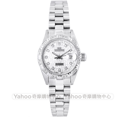 ROSDENTON 勞斯丹頓珍藏39週年款經典真鑽手錶-銀/25mm