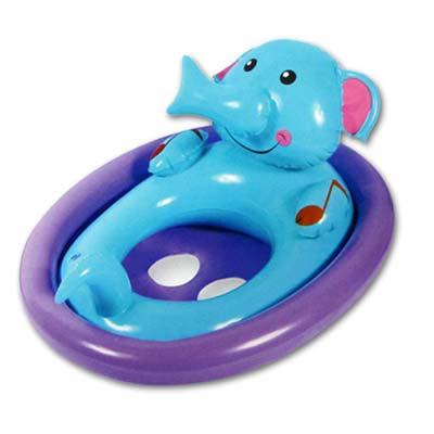 美國品牌【Bestway】可愛動物造型充氣座圈-大象