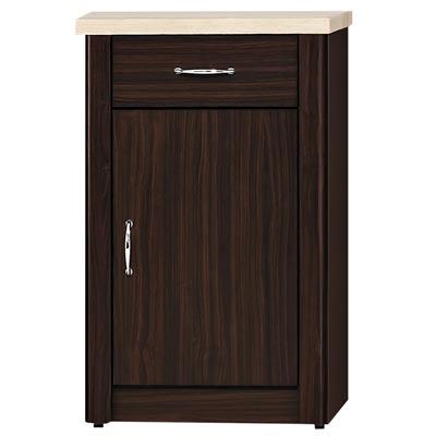 時尚屋 艾力森胡桃色1.5尺餐櫃
