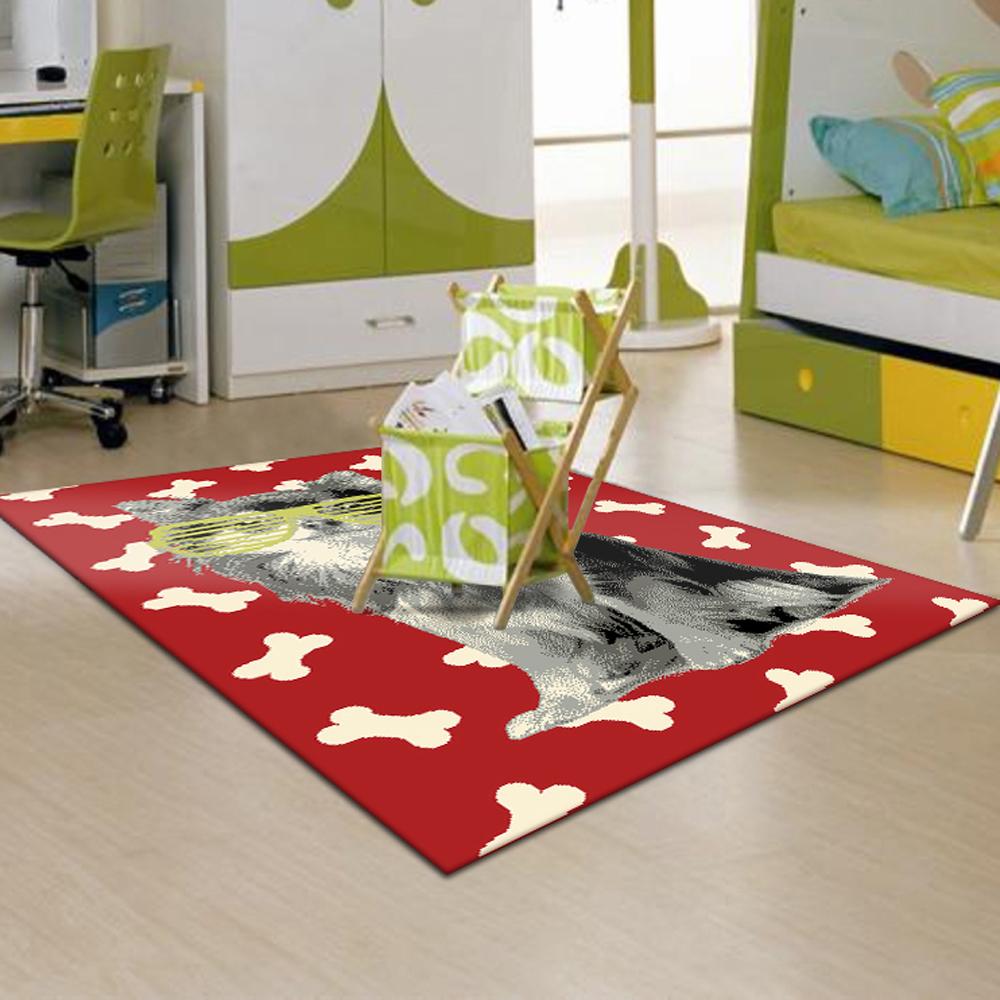 范登伯格 - 萊西 活潑遊戲地毯 - 酷寶 (紅 - 120 x 170cm)