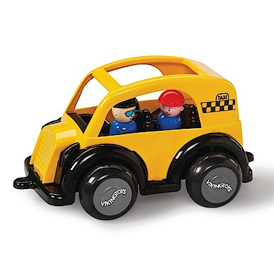 瑞典Viking Toys維京玩具-計程車