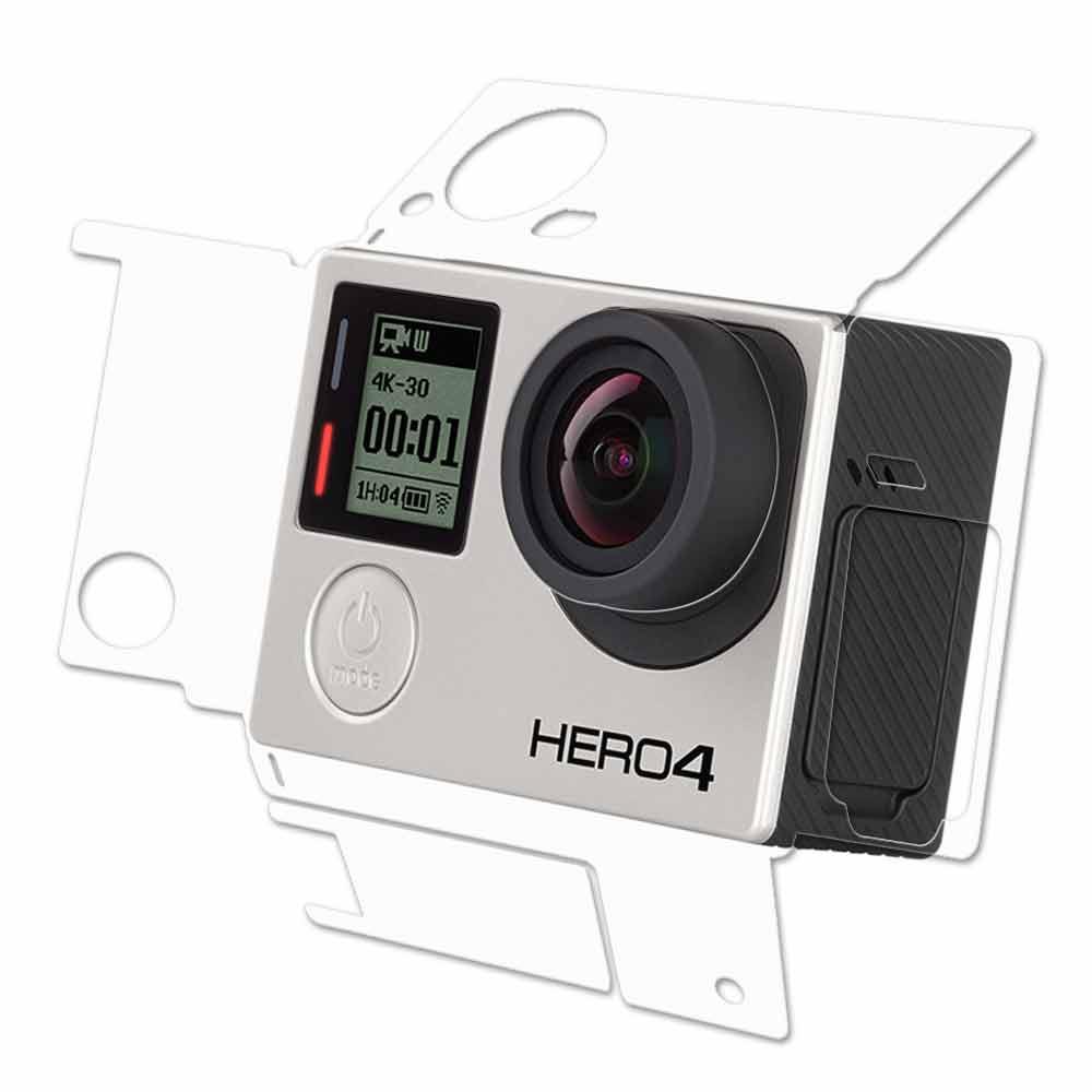 2入GoPro HERO 4主機專用透明保護膜機身膜防污防指紋