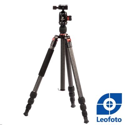 Leofoto徠圖-碳纖維三腳架-含雲台-LT254-DB34
