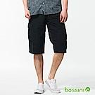 bossini男裝-休閒口袋短褲01海軍藍