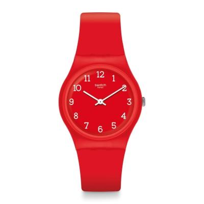 Swatch 原創系列 SUNETTY 火紅宣言手錶-34mm