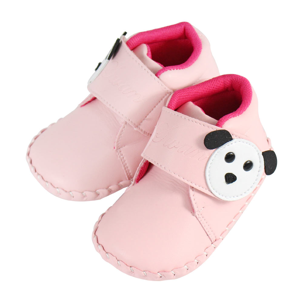 Swan天鵝童鞋-狗狗小短靴學步鞋1502-粉