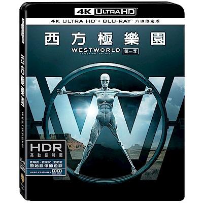 西方極樂園第一季 UHD+BD 六碟限定版 藍光 BD