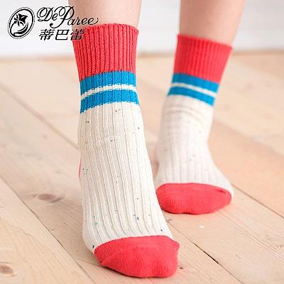 蒂巴蕾 流行女棉襪-美式風格