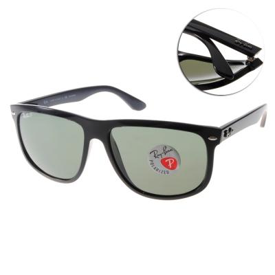 RayBan雷朋太陽眼鏡 經典時尚大框/黑色#RB4147 60158(偏光)