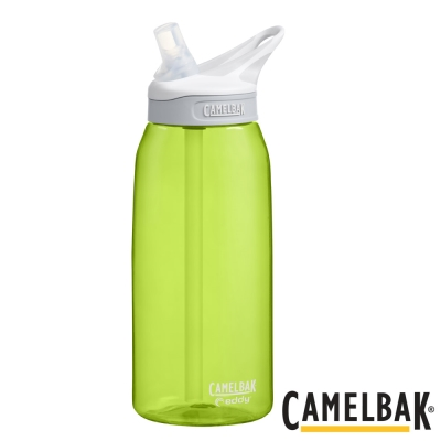 《CAMELBAK》多水吸管水瓶 萊姆綠1000ml(CB1273301001)