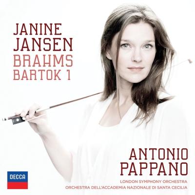 布拉姆斯 巴托克/小提琴協奏曲(1CD)
