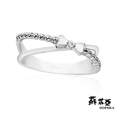 蘇菲亞SOPHIA - Love Bow系列三鑽石尾戒