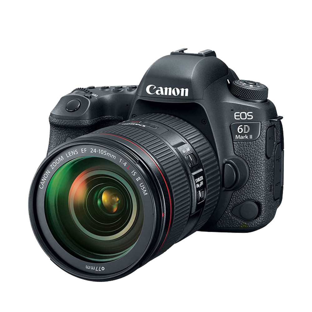 Canon EOS 6D MarkII+24-105mm f4L II單鏡組*(平輸中文) product image 1