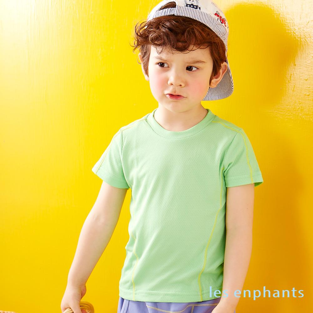 麗嬰房les enphants M-cooler涼時尚腰線排汗衣 鮮綠