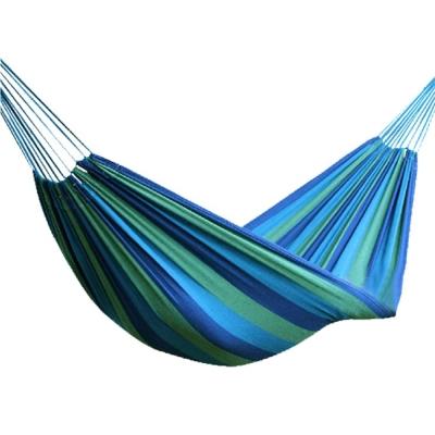PUSH! 戶外休閒用品 安全承重100kg加寬加厚的單人吊床P50